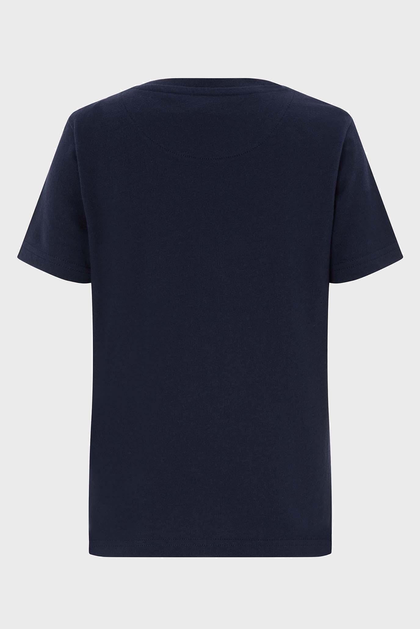 Детская синяя футболка Talon Train Tee Monsoon Children