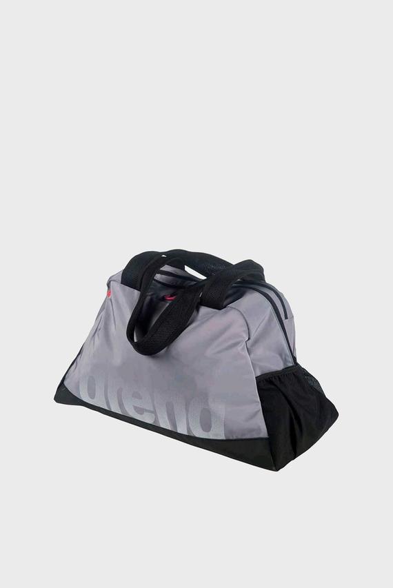 Женская серая спортивная сумка FAST WOMAN