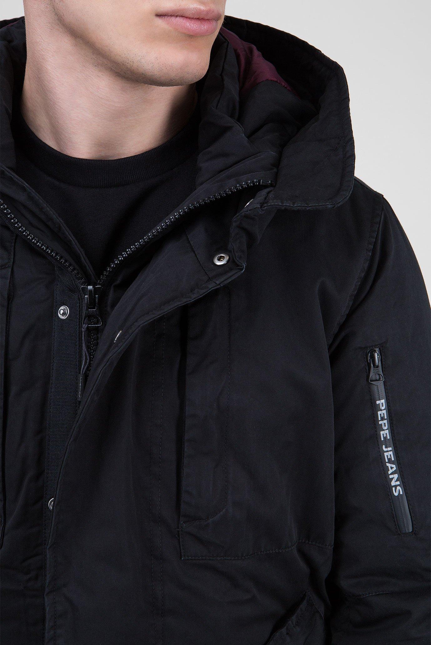 Купить Мужская черная куртка FULHAM Pepe Jeans Pepe Jeans PM401898 – Киев, Украина. Цены в интернет магазине MD Fashion