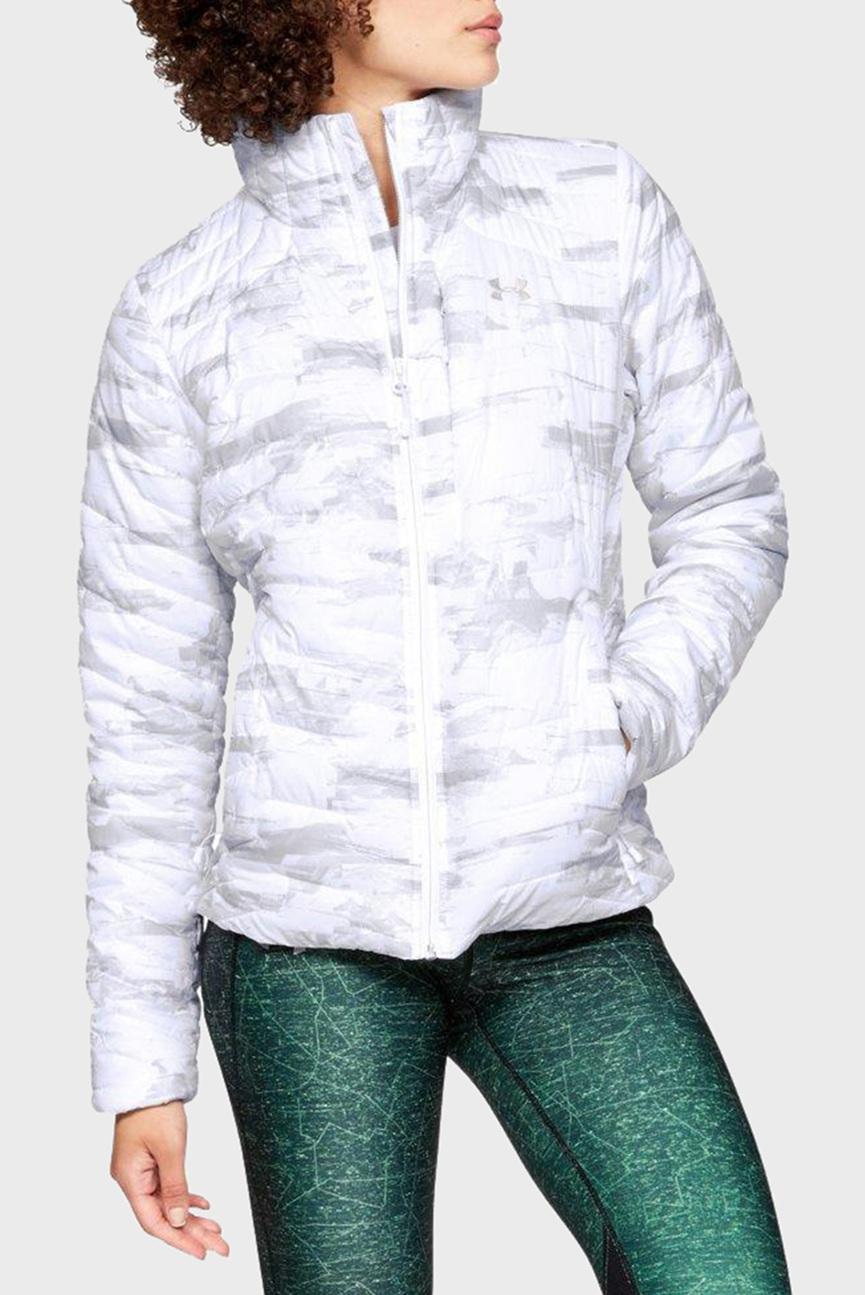Женская белая куртка UA CG Reactor Jacket