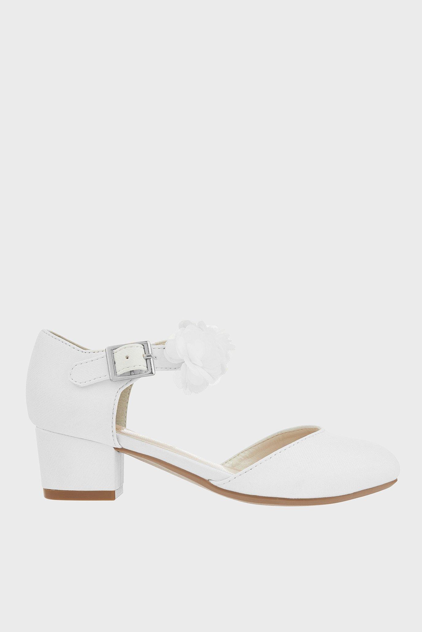 Детские белые туфли MACAROON IVORY SHOE 1