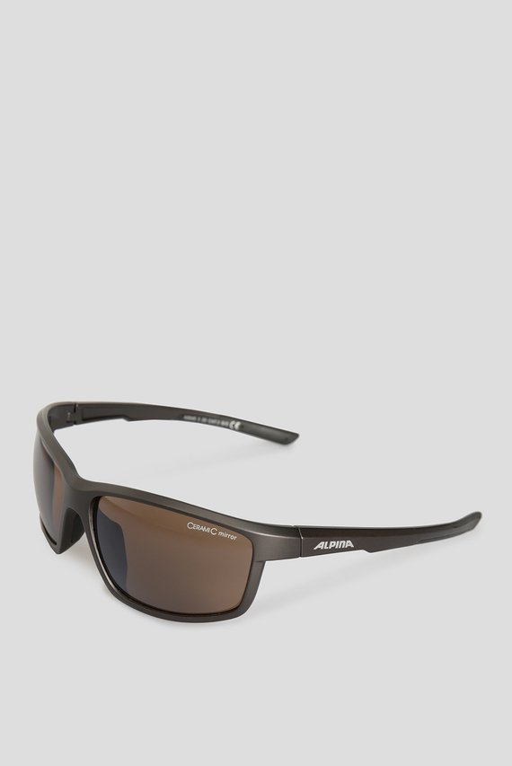 Коричневые солнцезащитные очки DEFEY