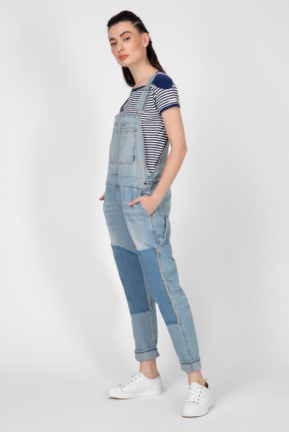 Женский голубой джинсовый комбинезон Faeroes