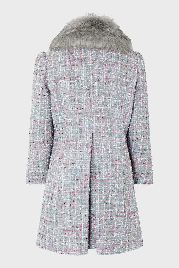 Детское серое пальто Tabitha Tweed Coat