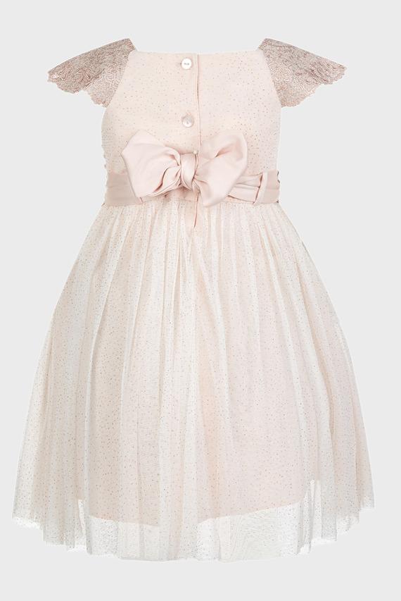 Детское розовое платье BABY ESTELLA
