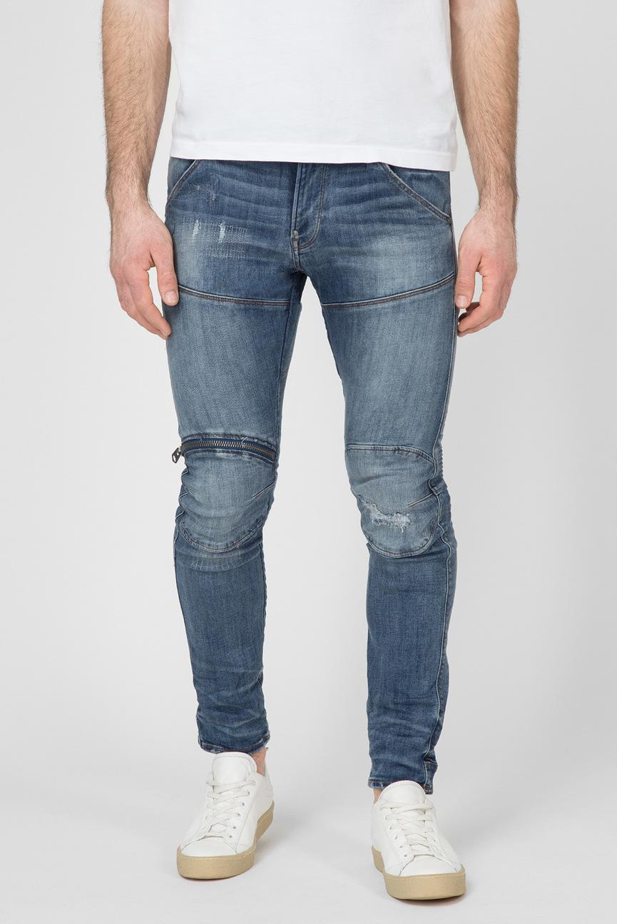 Мужские синие джинсы 5620