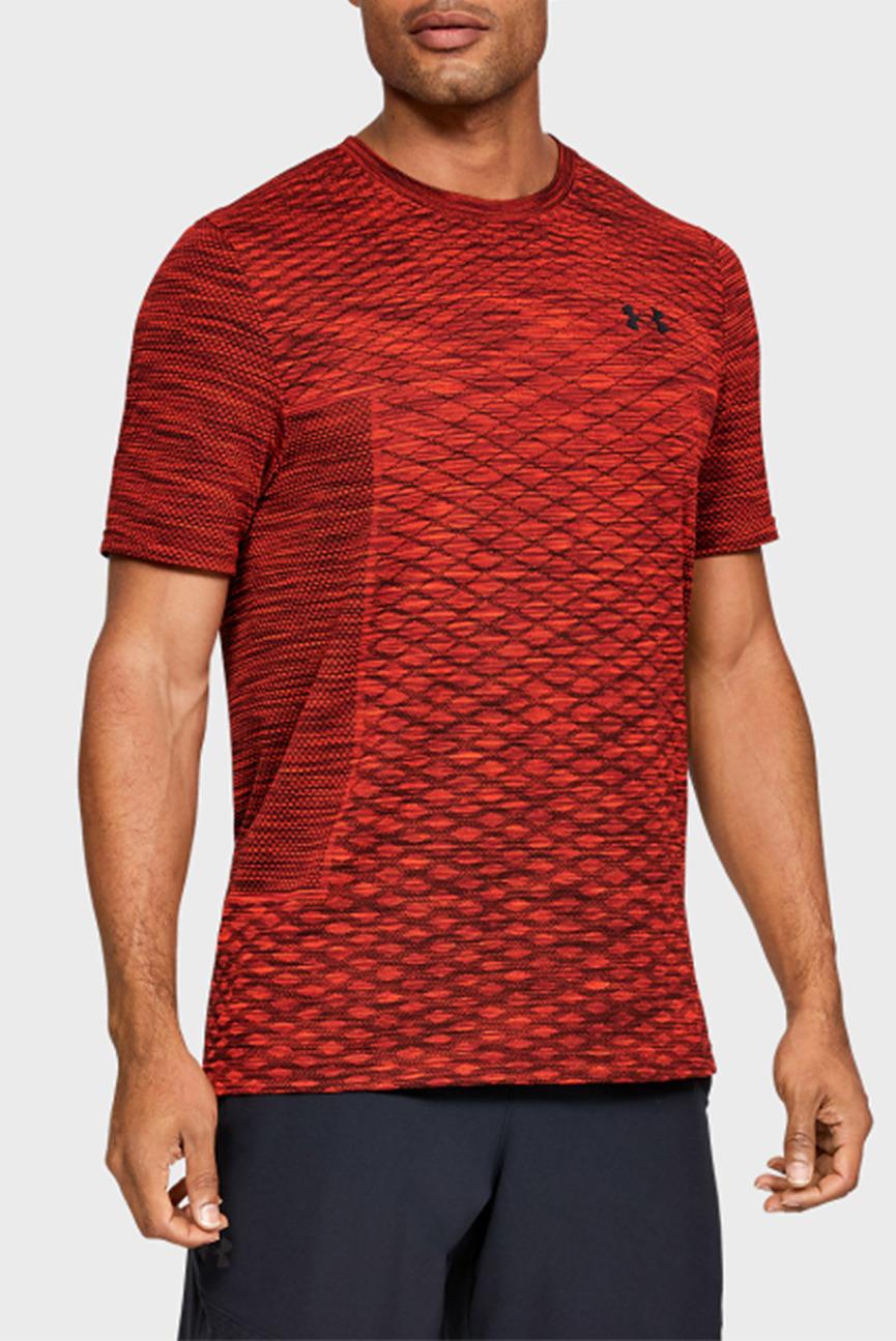 Мужская красная футболка Vanish Seamless SS Novelty