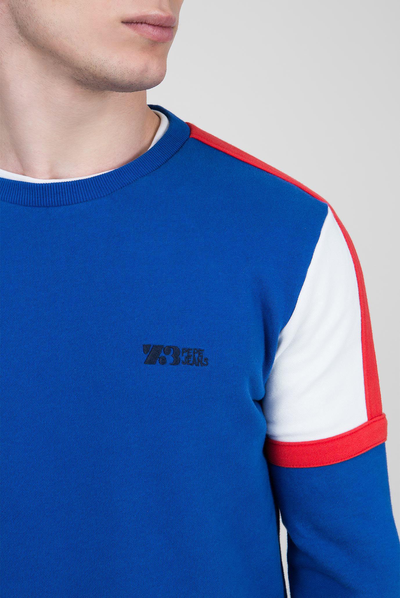 Купить Мужской синий свитшот ORATOR Pepe Jeans Pepe Jeans PM581479 – Киев, Украина. Цены в интернет магазине MD Fashion