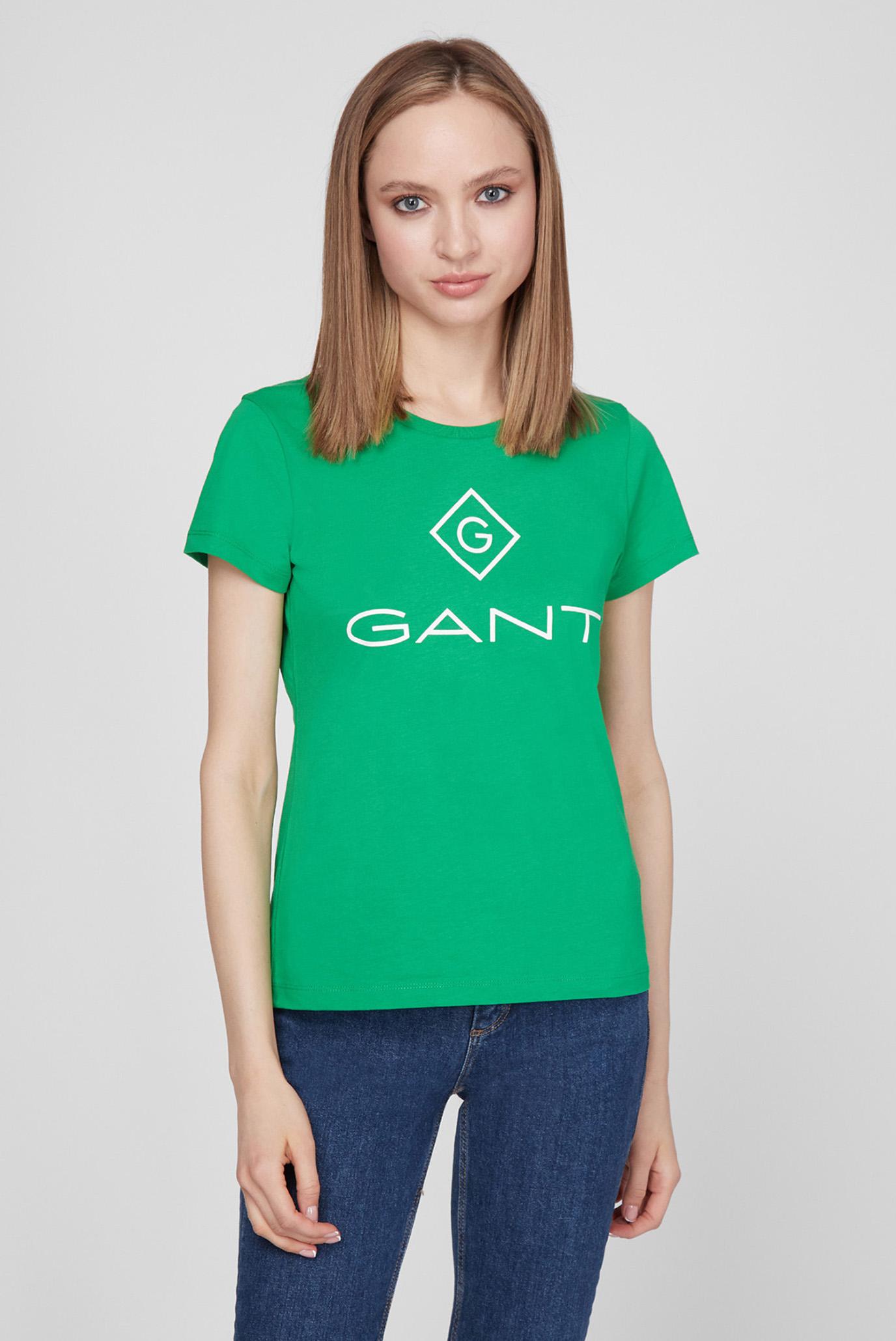 Женская зеленая футболка LOCK UP SS T-SHIRT 1