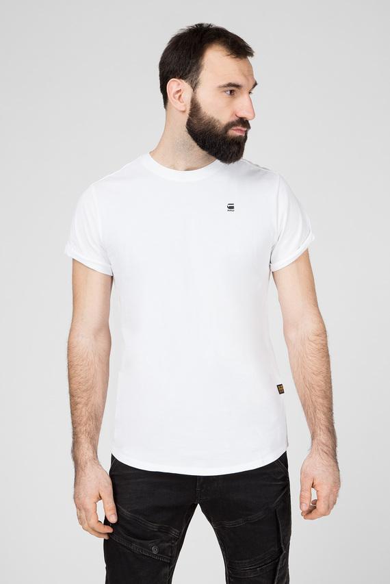 Мужская белая футболка Lash