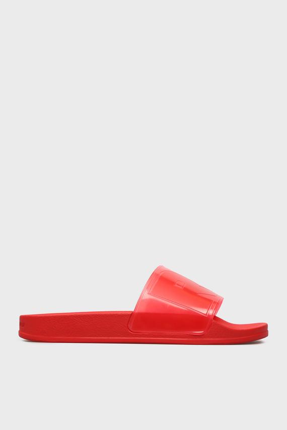 Женские красные слайдеры