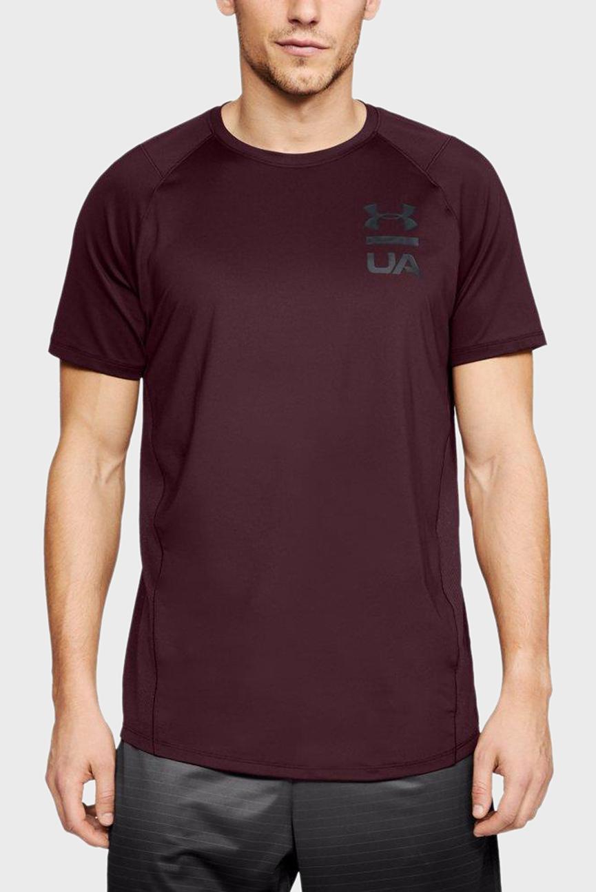 Мужская бордовая футболка MK1 SS Logo Graphic
