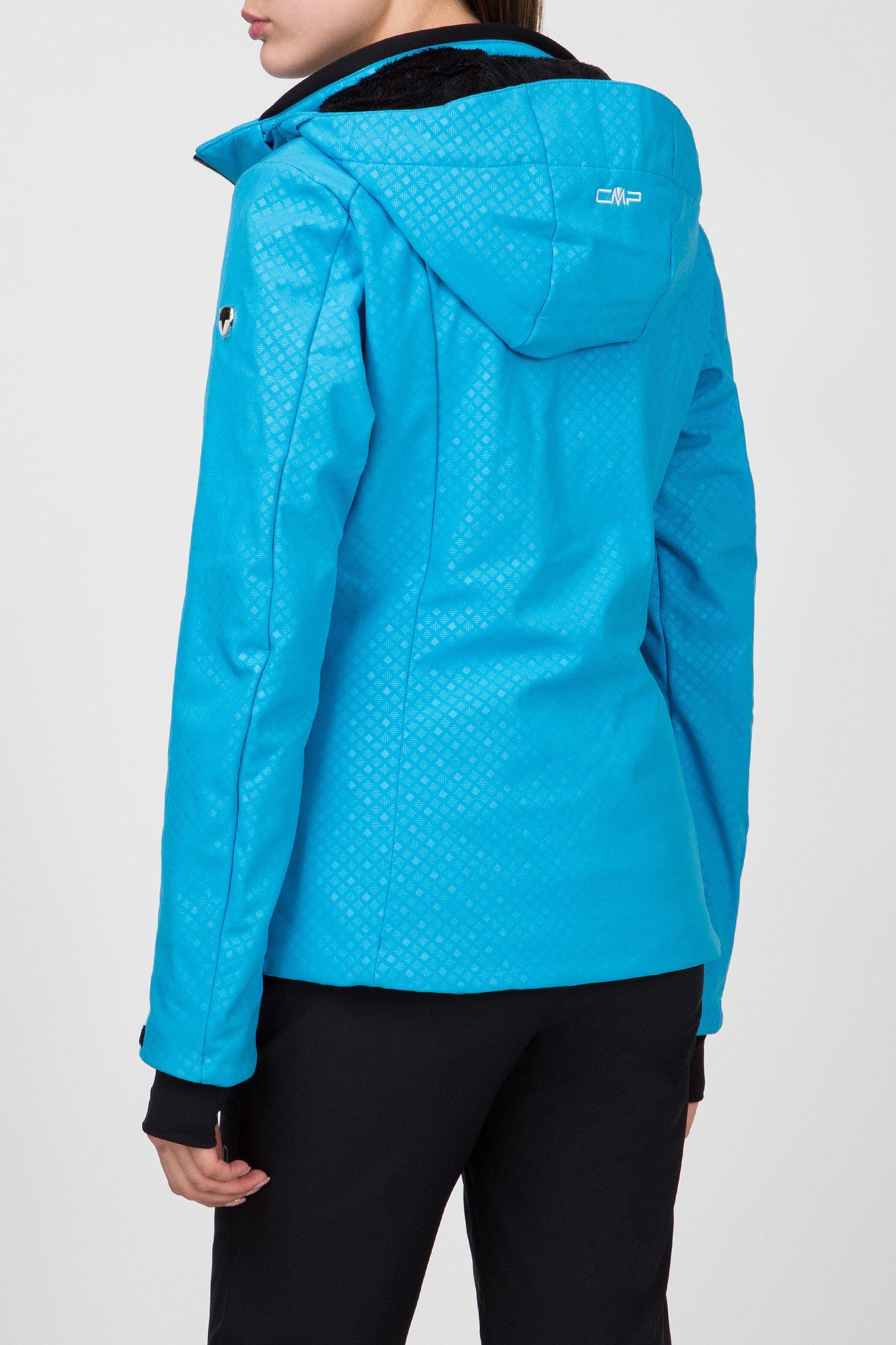 Купить Женская голубая пуховая лыжная куртка CMP CMP 38W0696-M713 – Киев, Украина. Цены в интернет магазине MD Fashion