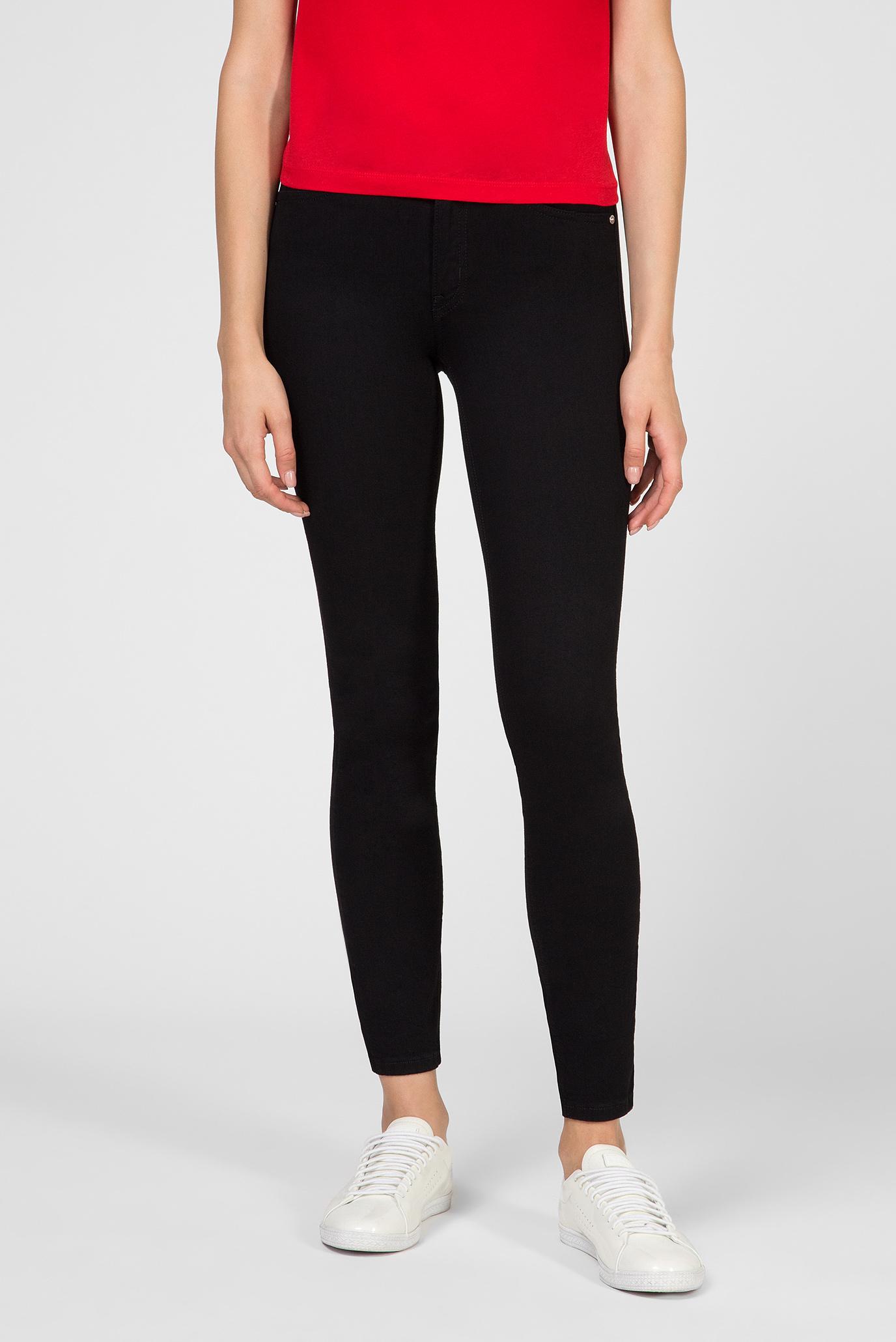 Женские черные джинсы SKINNY JEAN - BLACK Calvin Klein