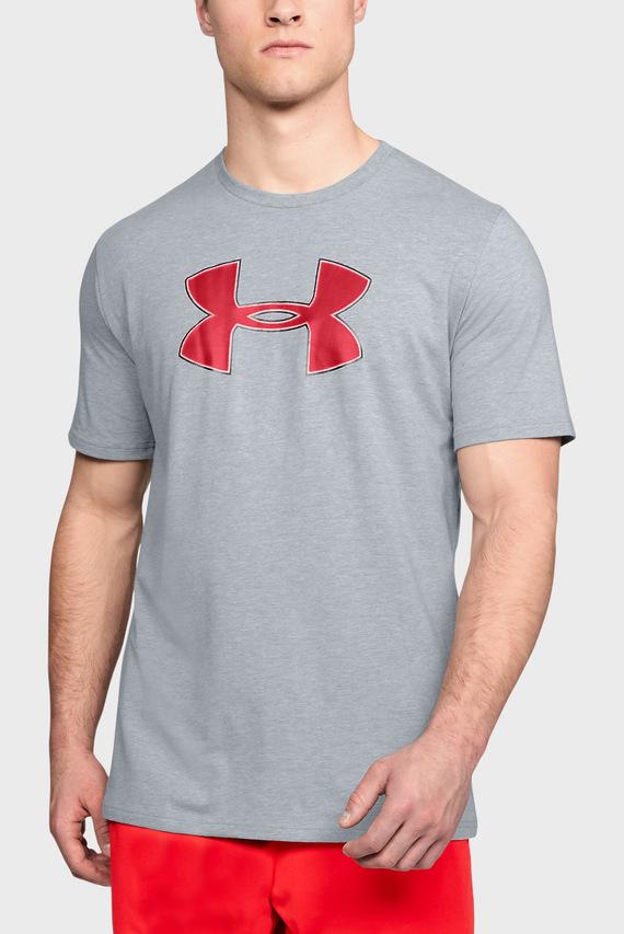 Мужская серая футболка Big Logo