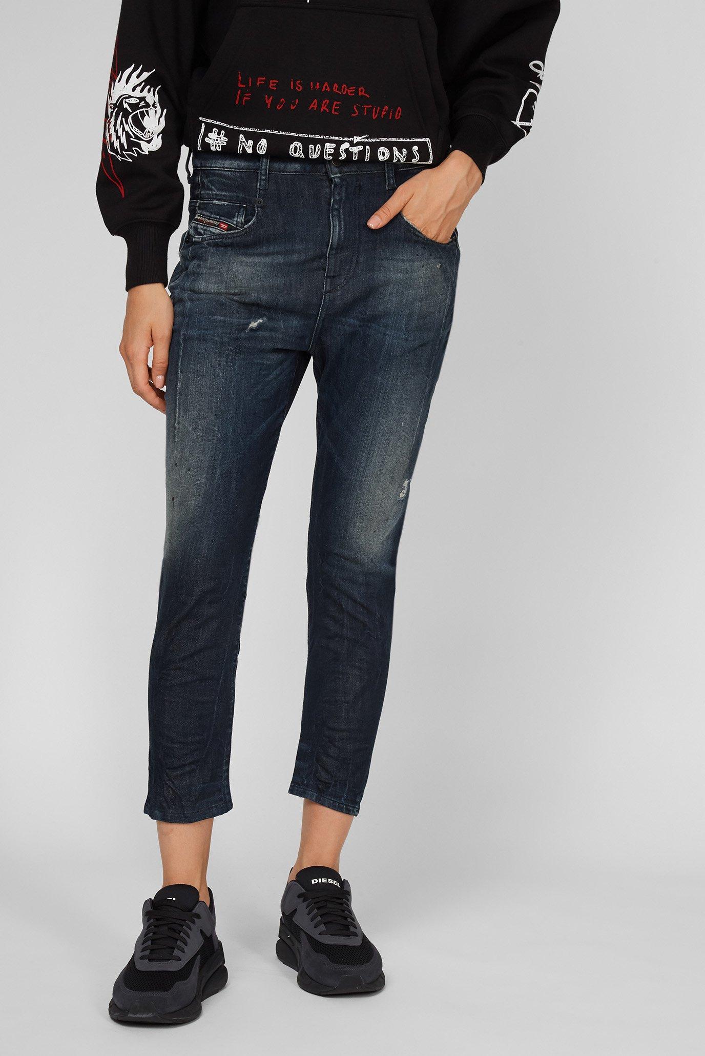 Женские темно-синие джинсы D-FAYZA-T 1