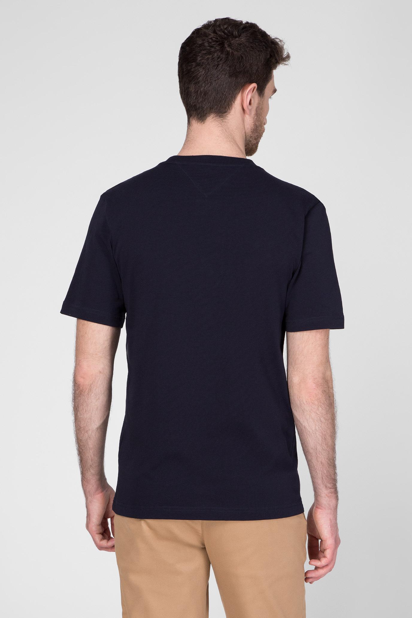Мужская темно-синяя футболка ICON STRIPE RELAXED FIT Tommy Hilfiger