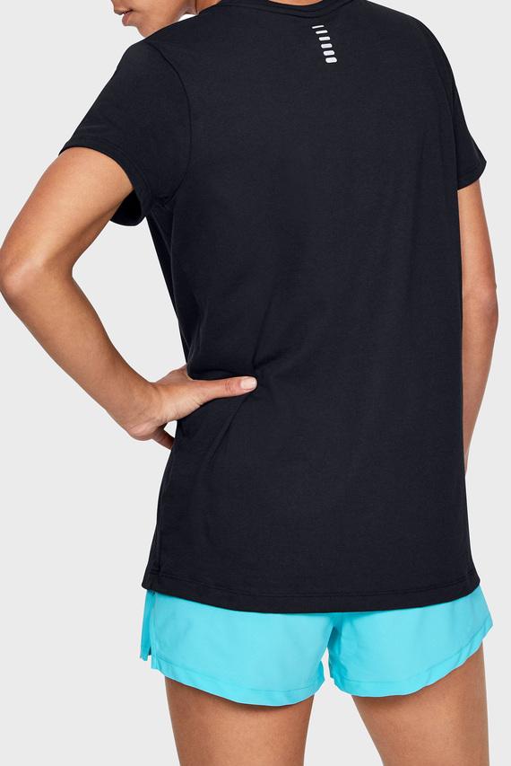 Женская черная футболка UA W Runner Runner Short Sleeve