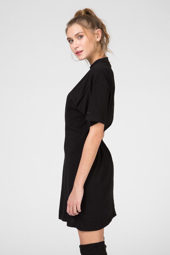 Женское черное платье Disem loose