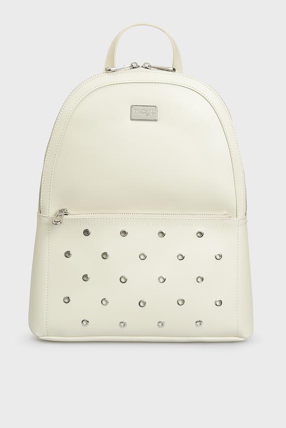 Женский белый рюкзак EMMA