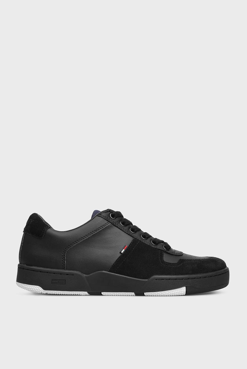 Мужские черные кроссовки BASKET SNEAKER