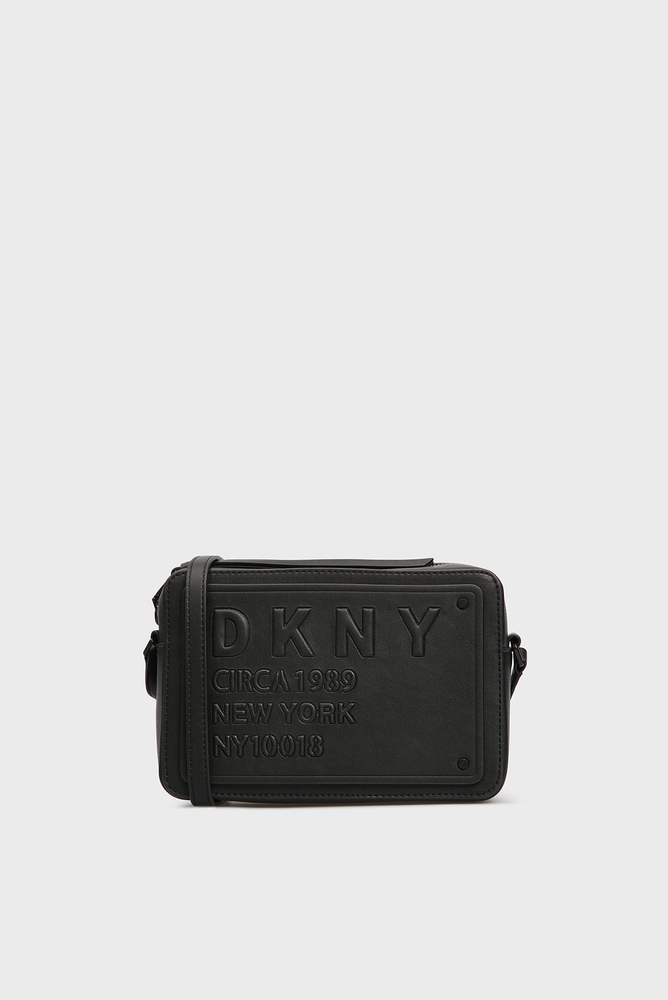 Купить Женская черная сумка через плечо DKNY DKNY R83EZ633 – Киев, Украина.  Цены в интернет магазине MD Fashion 271a7444bc2