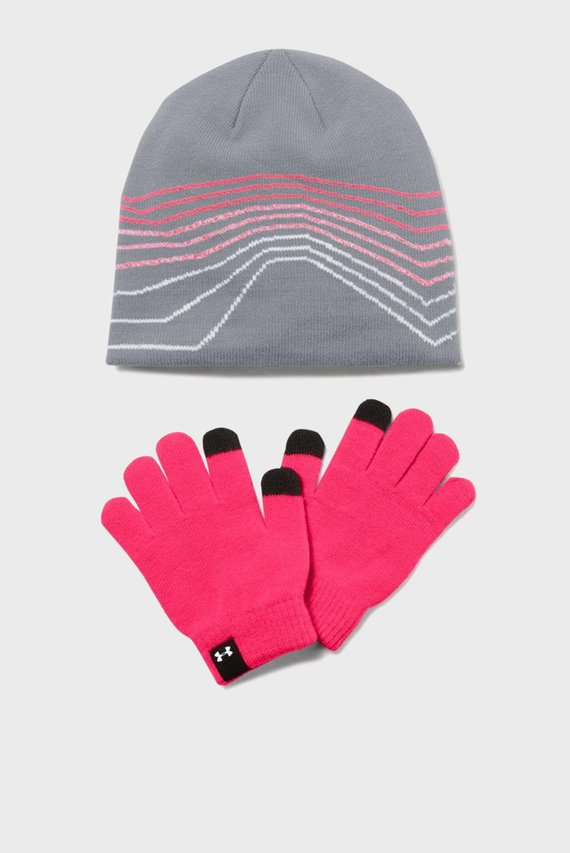 Детский набор аксессуаров (шапка, перчатки) Girls Beanie Glove Combo