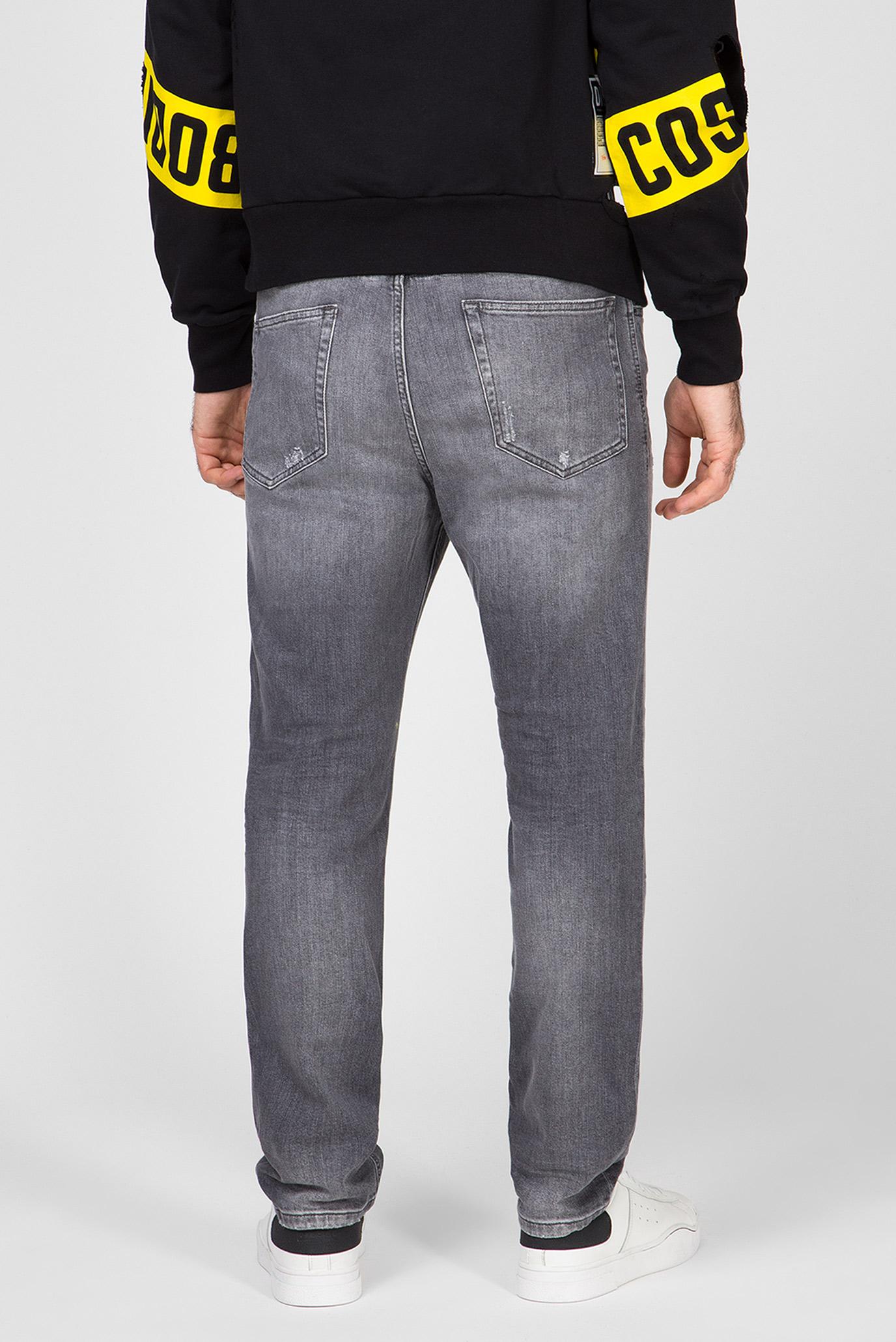 Мужские серые джинсы D-EETAR Diesel