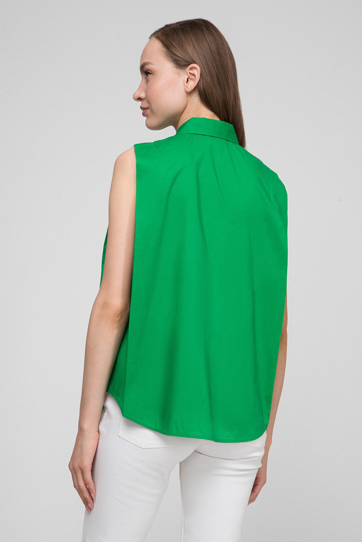 Купить Женская зеленая рубашка POLICE Calvin Klein Calvin Klein K20K200551 – Киев, Украина. Цены в интернет магазине MD Fashion