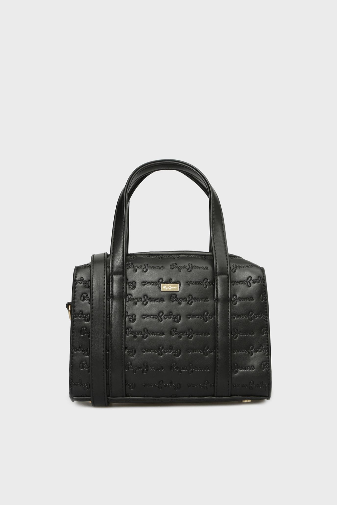 05da2058c885 Купить Женская черная сумка на плечо Pepe Jeans Pepe Jeans PL030949 – Киев,  Украина. Цены в интернет ...