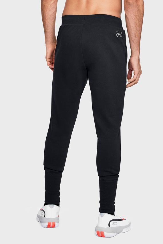 Мужские черные спортивные брюки UA BASELINE FLEECE JOGGER