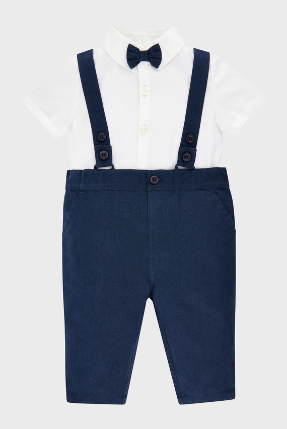 Детский костюм NB CONNOR MINI CHINO ( комбинезон, рубашка)