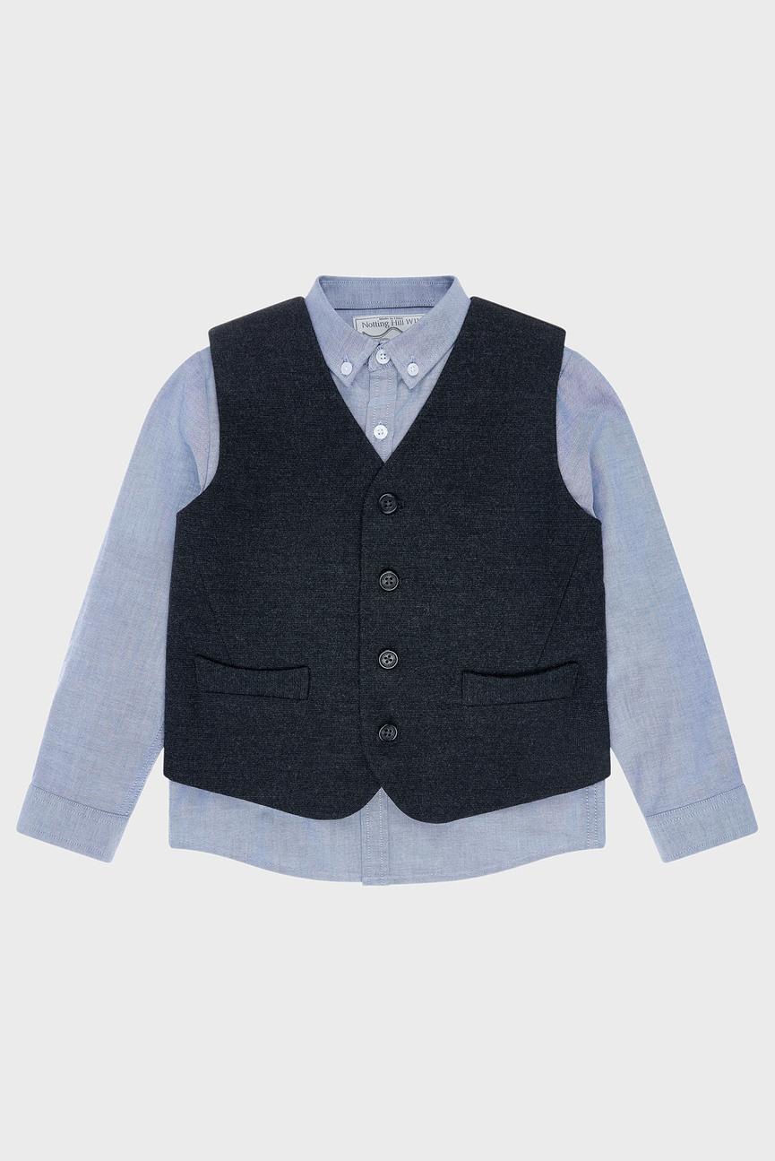 Комплект детской одежды (рубашка, жилет)