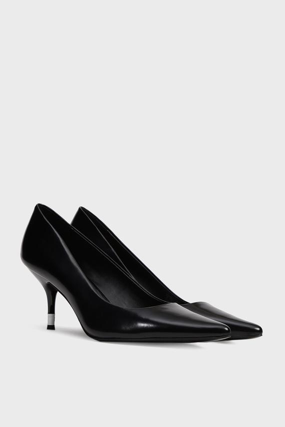 Женские черные кожаные лодочки ARIAH