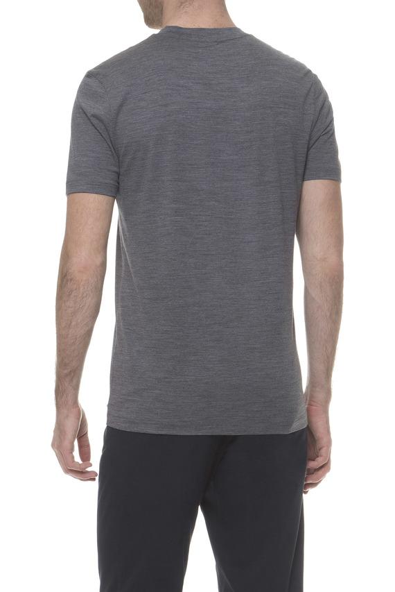Мужская серая шерстяная футболка