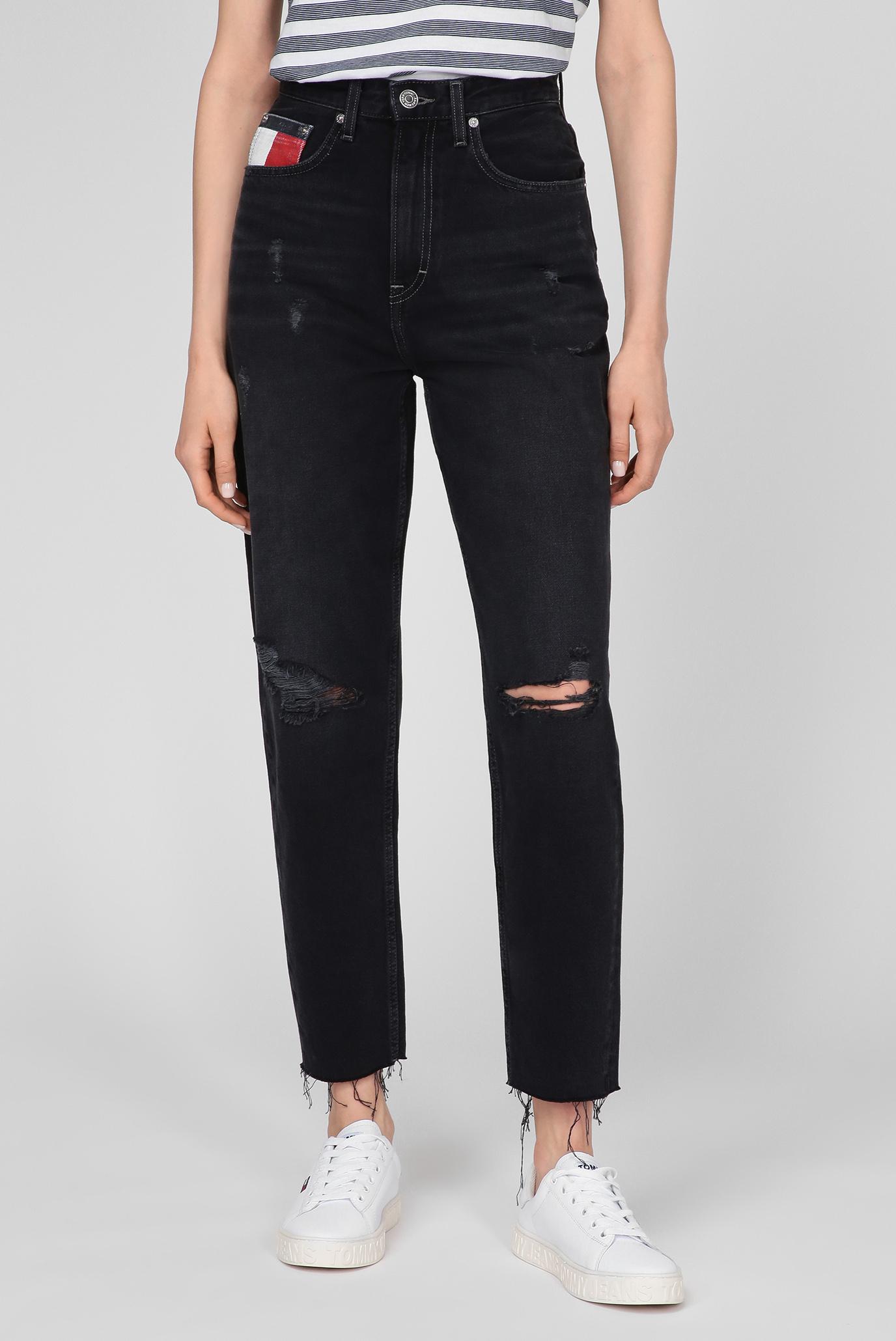Женские черные джинсы MOM JEAN ULTRA HR TPRD SSPBBRSD 1