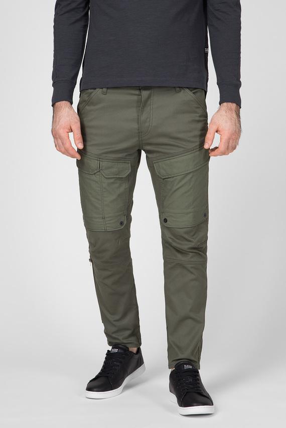 Мужские зеленые карго Front pocket