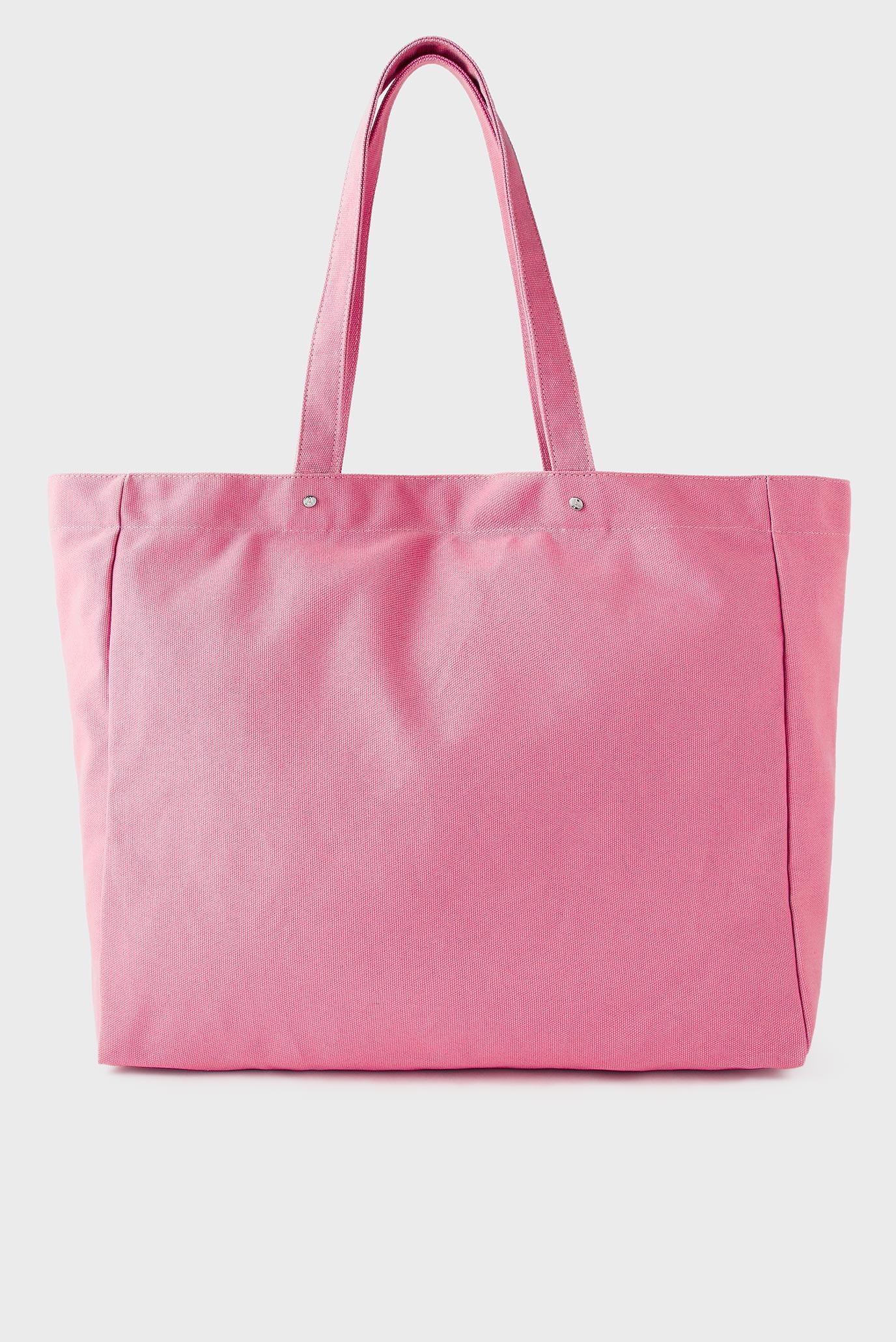 Женский розовый шоппер Canvas Shopper 1