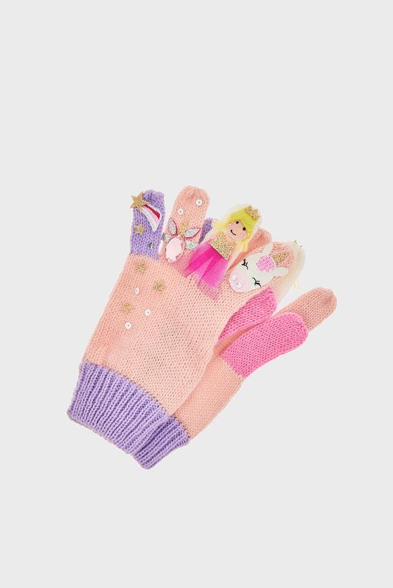 Детские розовые перчатки MYSTICAL GLOVES