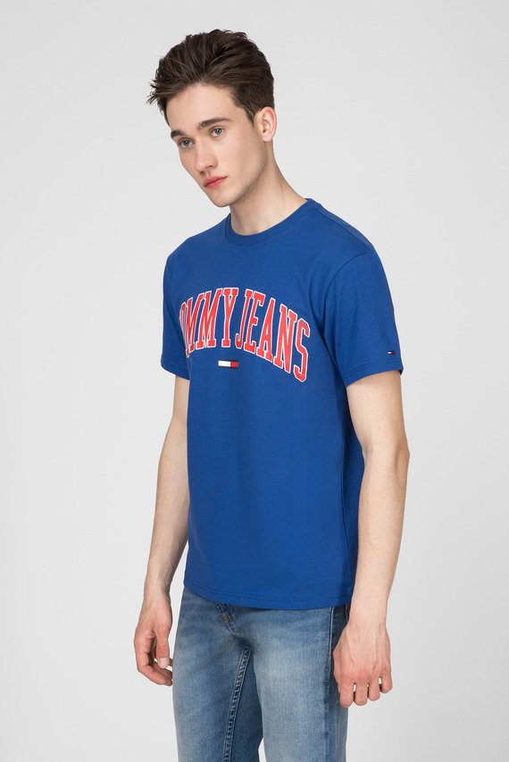 Мужская синяя футболка TJM COLLEGIATE