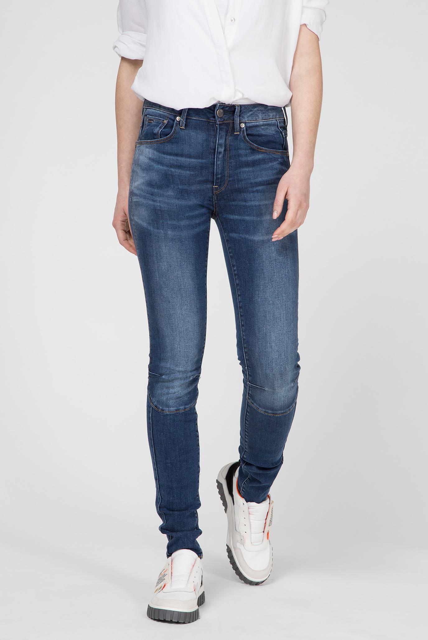 Купить Женские синие джинсы Biwes High Skinny G-Star RAW G-Star RAW D12853,6553 – Киев, Украина. Цены в интернет магазине MD Fashion