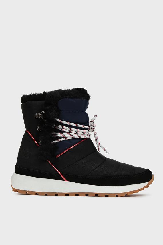 Женские черные ботинки DEAN ICE