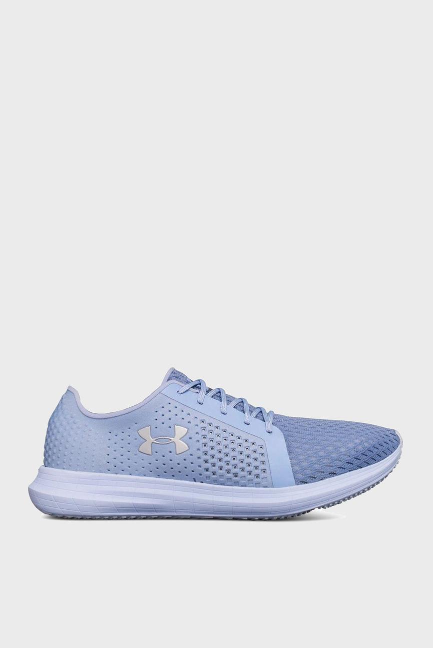 Женские голубые кроссовки UA W Sway