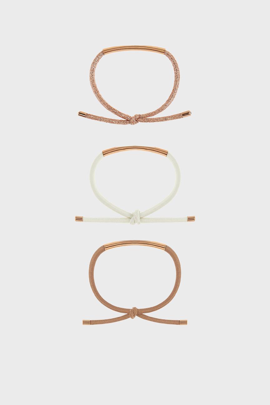Набор резинок для волос METAL BAR PONIES (3 шт)
