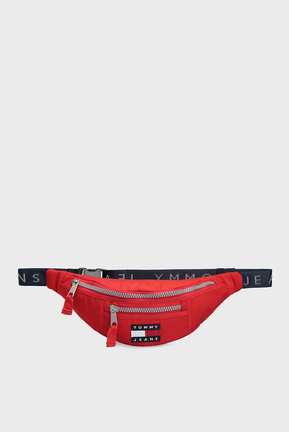 Мужская красная поясная сумка TJM HERITAGE