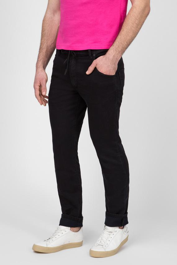 Мужские черные джинсы KROOLEY CB-NE Sweat Jeans