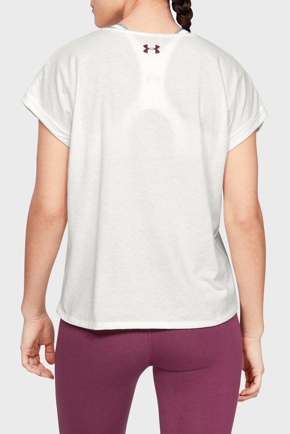 Женская белая футболка GRAPHIC ENTWINED FASHION SSC