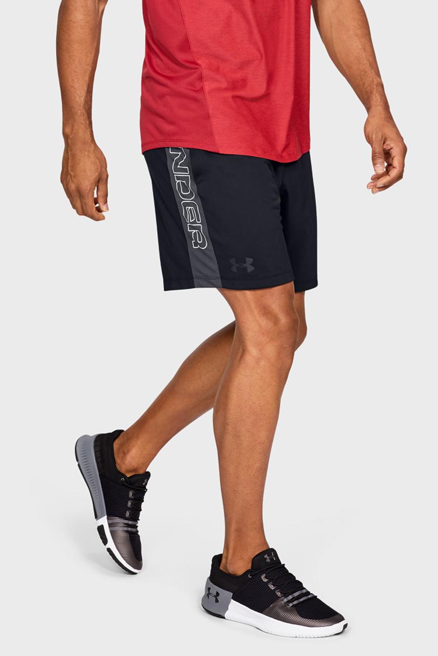 Мужские черные шорты MK1 Short 7in Wordmark