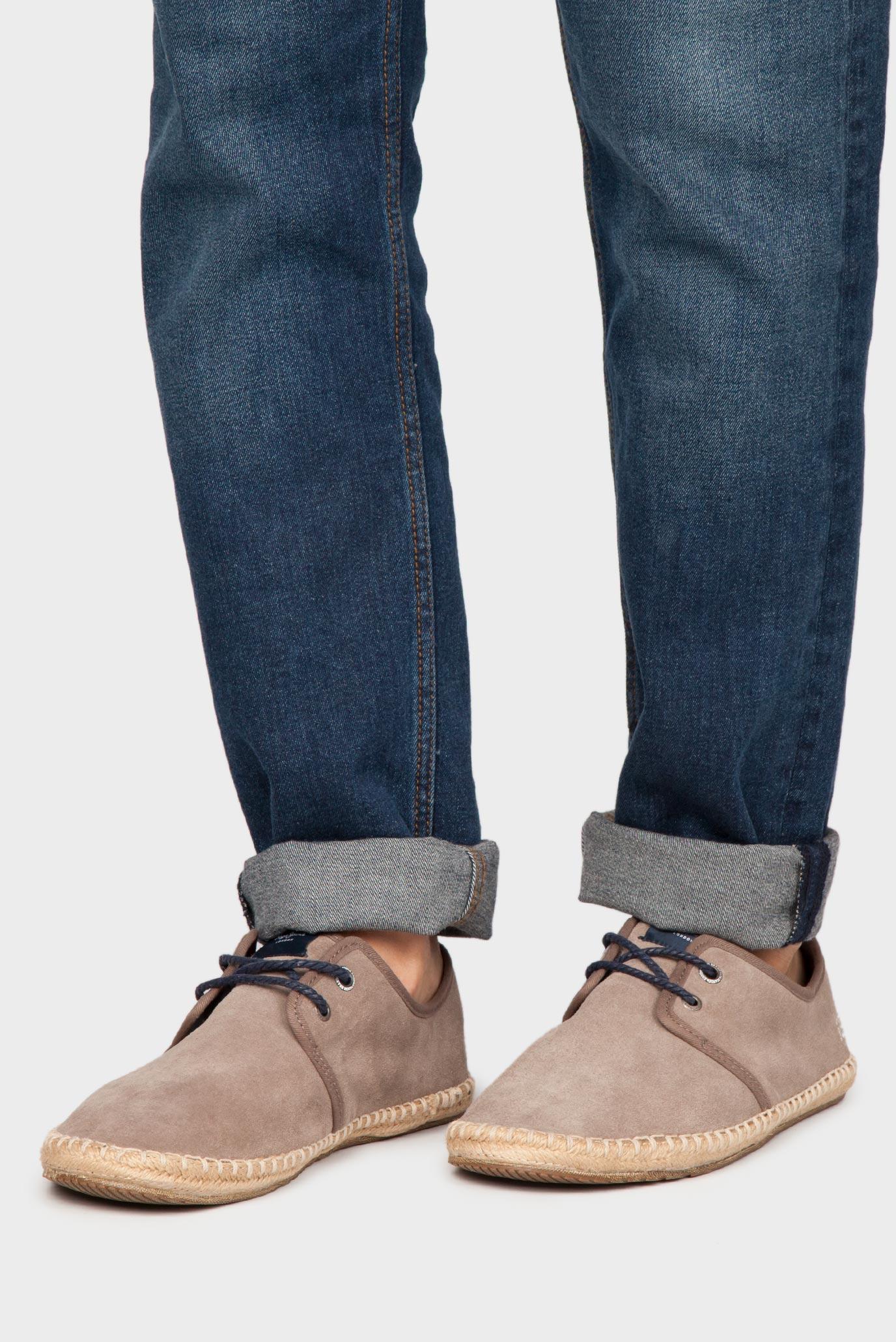 Купить Мужские коричневые замшевые высокие эспадрильи Pepe Jeans Pepe Jeans PMS10183 – Киев, Украина. Цены в интернет магазине MD Fashion