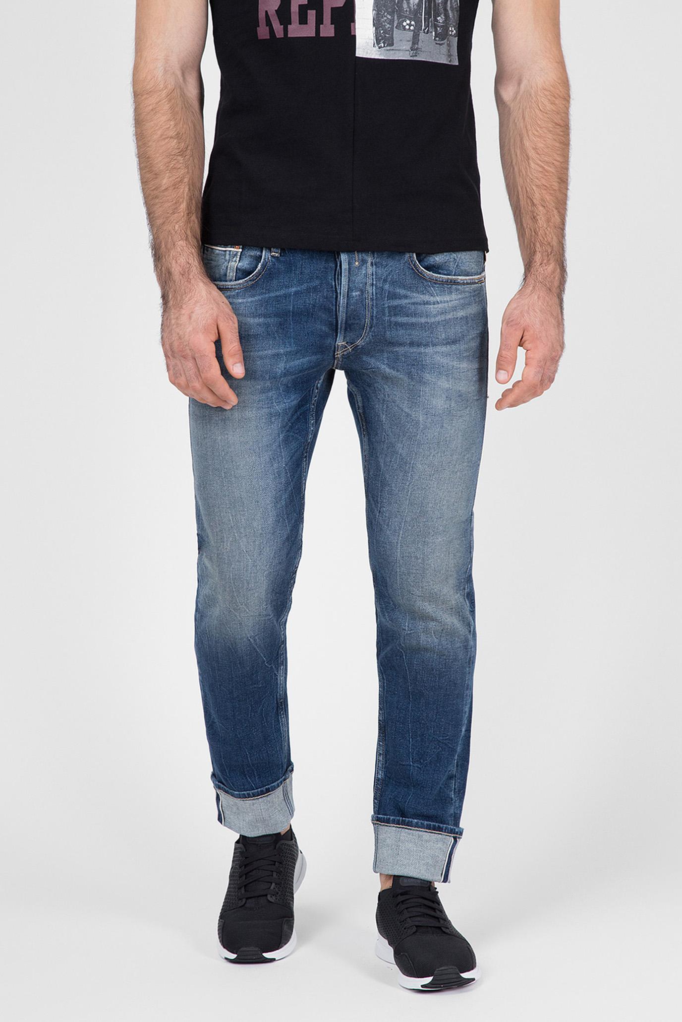 Купить Мужские голубые джинсы GROVER Replay Replay MCA972.000.121 308 – Киев, Украина. Цены в интернет магазине MD Fashion